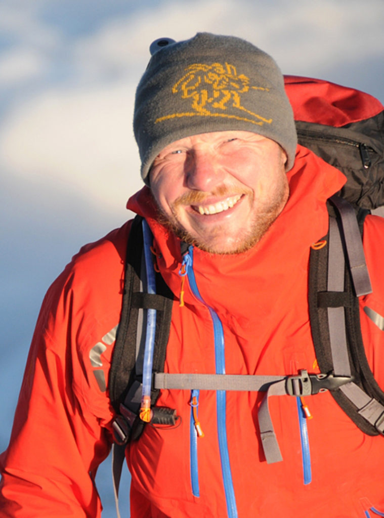 Bilde av Andre Spica er Fjellpulkenambassadør